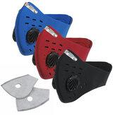 フェイスマスク呼吸器汚染防止防塵PM2.5アウトドアスポーツサイクリングマスク