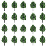 25/30/50Pcs Model Tree Set Sand Table Decorations Layout Railway Road Scenery  Landscaping