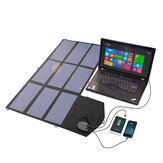 ALLPOWERS 18V 60W Camping Solar Panel Foldable Dual-Charging Port Solar Charger Solar Battery Charging for Outdoors Hiking Laptop/Phone