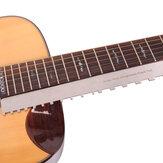 Gitaar hals inkeping Straight Luthiers Tool aluminium gitaar liniaal meten voor de meeste elektrische gitaren voor toets en fret