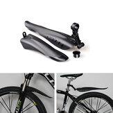 Set parafanghi anteriori per bici da ciclismo in plastica in PVC da 2 pezzi Set parafanghi per bici per parafanghi da 24-28