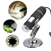 1600X 8 LED USB Zoom 3 In1 رقمي Microscope Portable Biological USB Microscope Magnification