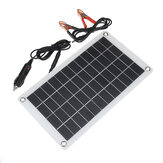 12V 7.5W Polysilicon Solar Panel Battery Charger Clip For Car RV Boat Outdoor