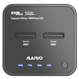 MAIVO M.2 SSD Docking Station Duplicator Support SATA PCIe M.2 SSD Clone without PC SSD Enclosure