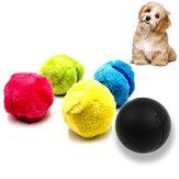 4本/セットマジックローラーボール玩具自動ローラーボールペットキャット犬のおもちゃ狩猟犬用品