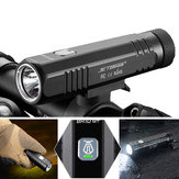 JETBeam BR10GT Upgrade Bikelight 1100LM Black SST40 N4 BC LED USB Rechargeable Bike Light Flashlight with 2400mAh 18650 Battery