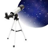 IPRee® F360x50 HD Refraktif Astronomik Teleskop Uzay Spotting Teleskop TripodYüksek Büyütme Zoom Monoküler