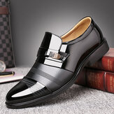 Men Comfortable Leather Business Lace Up Formal Shoes