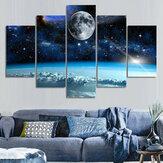5 pezzi dipinti su tela universo stampa decorativa da parete immagini artistiche senza cornice decorazioni da appendere a parete per ufficio a casa