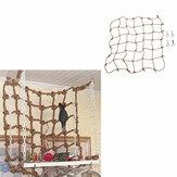 Pet Parrot Bird Net Cage Escalade Jouet Balançoire Échelle Ara Jouer Suspendus Corde Crochet