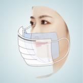 120 piezas desechables Mascara interior almohadilla de algodón junta filtro antipolvo para universal Mascara