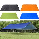 210x150cmOutdoorKampçılıkÇadırTarp Tente Yağmurluk Barınak Tente Su Geçirmez Piknik Mat