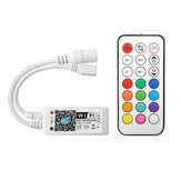 ARILUX® SL-LC 09 Super Mini LED WIFI APP Controller + RF Afstandsbediening Voor RGB LED Strip DC9-28V