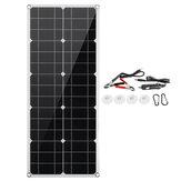 Painel Solar Flexível Monocristalino 30w com Porta USB Proteção Contra Curto-Circuito
