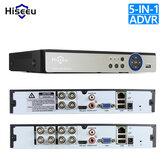 Hiseeu 4CH 960P 8CH 1080P Gravador de vídeo 5 em 1 DVR para câmera AHD Câmera analógica Câmera IP P2P Sistema Cctv DVR H.264 VGA HDMI