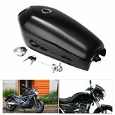 9L Fuel Gas Tank With Cap Switch Key Retro Motorcycle Vintage Racer For Honda CG125 AA001