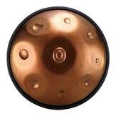 HLURU F majeur / D mineur 9/10 noten Musical Handpan Drum Professionele Handpan Duurzaam Carbon Steel Tongue Drum