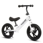 BAISHS 12 inch Kids Balance Bike No Pedal Walker Bicycle Carbon Steel Children Sport Scooter for 2-6 Years Old