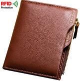 男性盗難防止RFIDブロッキングセキュアウォレット6カードスロットProt
