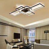 Regulável acrílico moderno LED luz de teto lâmpada casa sala de estar luminária decoração