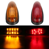 6 inches 10 LED Car Tail Light zijmarkeringslicht voor Truck Tailer