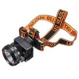 XANES®3000LUXLEDHelmetLightIP65 Wodoodporna lampa bezpieczeństwa Head Cap Camping Jazda na rowerze Polowanie Reflektor Outdoor Emergency Lantern