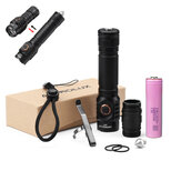 Astrolux® S43 4x LH351D/4x XPL-HI 3500lm New LED High CRI 95 EDC Flashlight + 1Pc 30Q Power 18650 Battery
