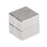 20stN5020x10x2mmNeodymiumblokmagneetLangwerpige supersterke zeldzame aardemagneten