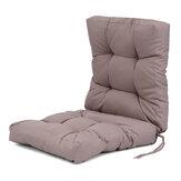 Almofada para cadeira com encosto alto Sofá impermeável Cadeira reclinável Almofada Assento Almofada nas costas Tapete de tatami para casa de escritório, pátio