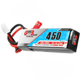 Gaoneng GNB 7.4V 450mAh 2S 80C / 160C Lipo البطارية JST Plug لـ Wltoys K989 1/28 RC Car
