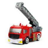 Coke Can Shenqiwei 8027 1:58 échelle aérienne Fire-Truck RC voiture Mini 4 Channel