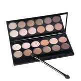 Qibest Smoky Matte Eye Shadow Palette