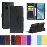 Bakeey for OnePlus 8T Case Magnetic Flip with Multiple Card Slot Foldable Stand PU Leather Shockproof Full Cover Protective Case