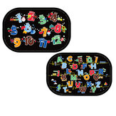 2pcs Cartoon Car  Car Window Baby Sunshades Rear Side Window Sunshade Protect Window Film