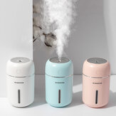 Remax 280ML MINI Ultrasonic Air Humidifier with Romantic Lamp USB Car Mist Maker Aroma Oil Diffuser Aromatherapy Humidifiers