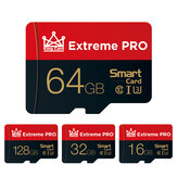 Extreme Pro High Speed 16GB 32GGB 64GB 128GB Class 10 TF Memory Card Flash Drive With Card Adapter For iPhone 12 Smartphone Tablet Switch Högtalare Drone Car DVR GPS Camera