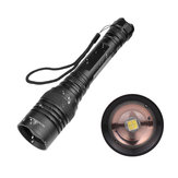 XANES® 1330 XHP50 LED 5 Modes Rotary Zoom Waterproof Tactical LED Flashlight 18650