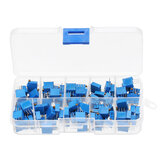 100pcs 3296W Multiturn Trimmer Potentiometer Kit Résistance Variable Haute Précision Avec Kit Box