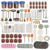 166 stks 1/8 Inch Schacht Rotary Tool Accessoires Set Polshing Tool Slijpen Borstel Polijsten Wiel