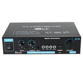 AK35 110V-240V bluetooth 5.0 estéreo amplificador de potência USB alto-falantes musicais sem fio