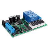 IO53A02 5V 9V 12V 24V DC AC Motor Snelheidsregelaar Relaiskaart Vooruit Achteruitregeling Automatische timing Vertraging Cyclus Limiet Start Stopschakelaar