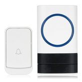 Smart Wireless Doorbell 45 Songs Polyphonic Ringtones 200m Transmission Door Bell