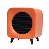 700W Fan Heater Portable Electric Winter Warmer Fan Desk Camping Home Two Mode Heating Device