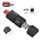 Mini Adaptador USB Leitor de Cartão USB Para Micro TF / SD Adapter Converter Smart Kit de Leitor de Cartão de Memória USB 3.0 de Alta Velocidade