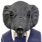 26 * 43 * 28cm masque de latex de protection de l'environnement d'éléphant gris pour les jouets d'Halloween