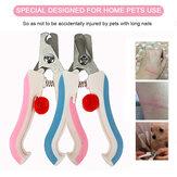 Pet Dog Cat Claw Nail File Ciseaux Toe Clipper Cutter Tondeuse En Acier Inoxydable Cutter Tool
