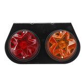 12V LED Indicatore di posizione posteriore Luci posteriori a doppio colore per rimorchio per camion di auto da barca