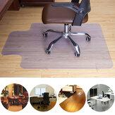 Tapete de piso de PVC transparente Cadeira de rolamento de escritório para casa Protetor de tapete de piso anti-arranhões Tapete de cadeira de PVC transparente