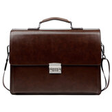 Simple Fashion Business Style Men Laptop Bag for 15 inch Below Notebook