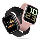 [2つのストラップ] Bakeey P70S心拍数血圧酸素モニター1.3インチカラースクリーン天気プッシュIP68スマートな腕時計